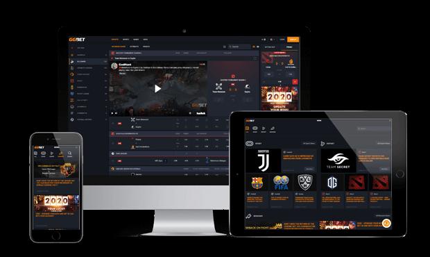 gg.bet website screens