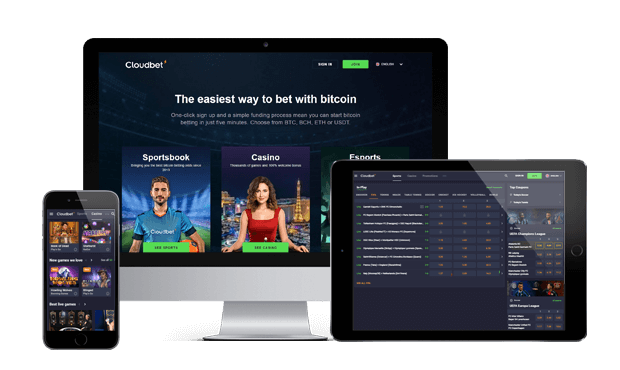 cloudbet website mobile