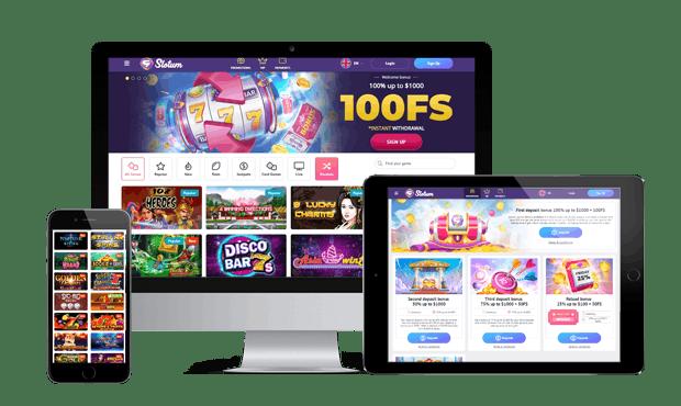 slotum casino website devices