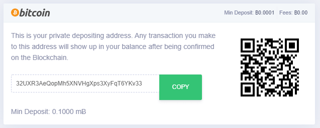 mbit casino bitcoin deposit