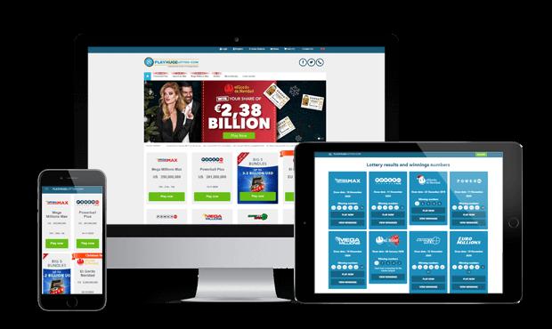 playhugelottos website screens
