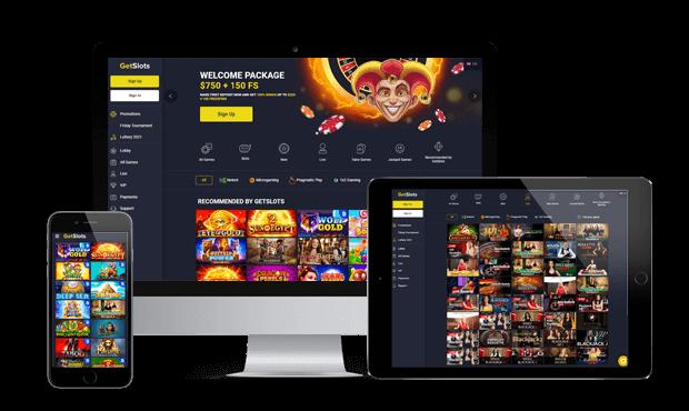 getslots casino website screens