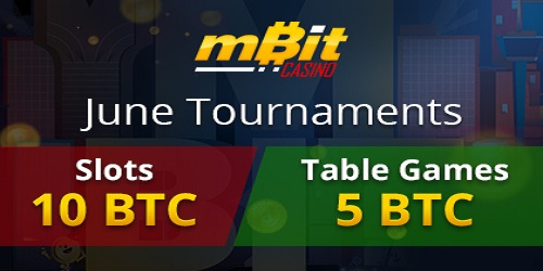 mbit casino june tournaments