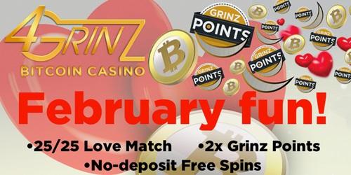 4grinz casino february promotions