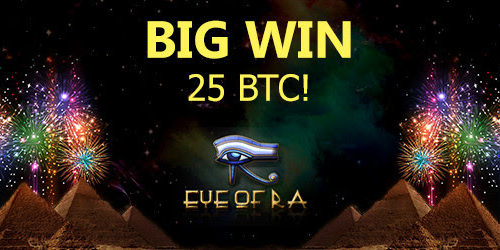 7bitcasino eye of ra slot big winner
