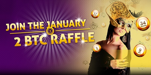 bitcasino bitcoin january raffle