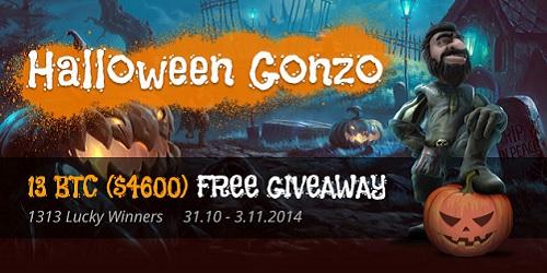 bitcasino.io halloween gonzo promotion