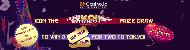 bitcasino koi princess fortune promo