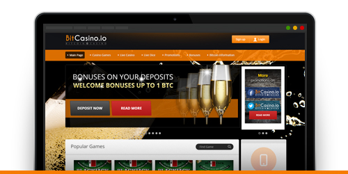 bitcasino.io new website