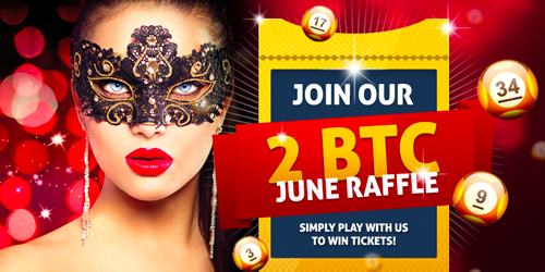 bitcasino.io june bitcoin raffle