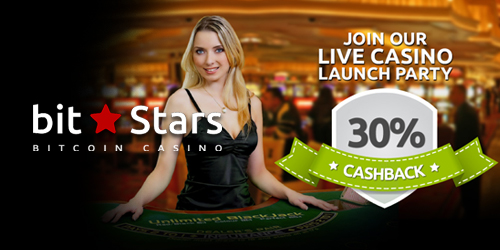bitstars casino cashback bonus