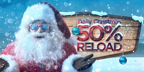 bitstars casino christmas daily reload bonus