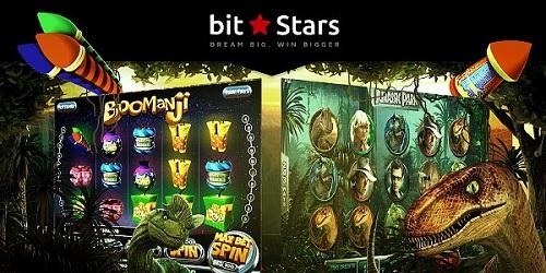 bitstars casino share and win promo