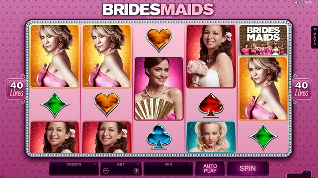 bridesmaids slot review