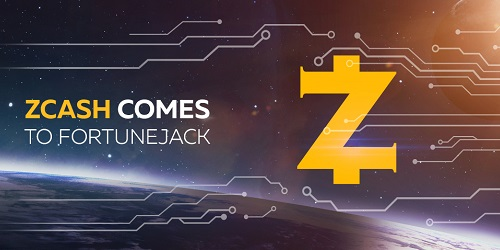 fortunejack casino adds zcash cryptocurrency
