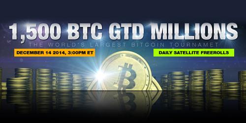 highroller bitcoin poker tournament