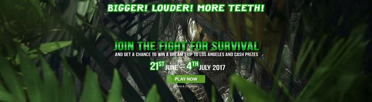 jurassic world fight for survival promo