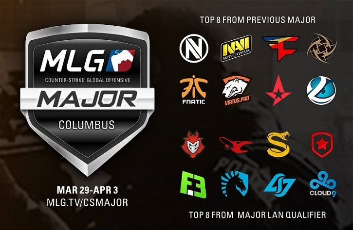 MLG Major Columbus teams