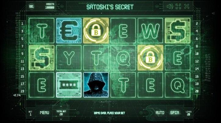 satoshis secret slot preview