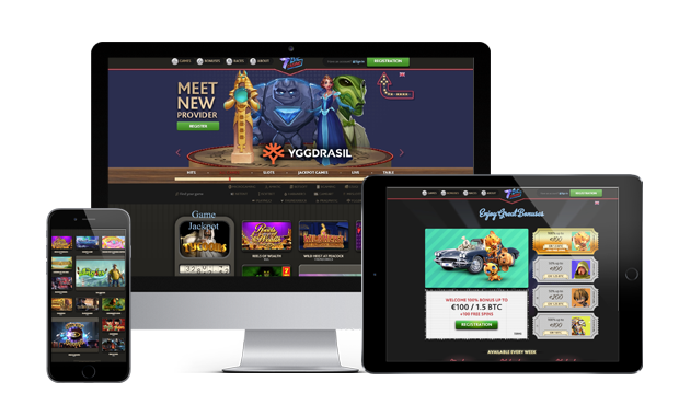 7bit casino website