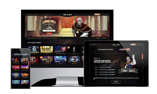 kingbilly casino website