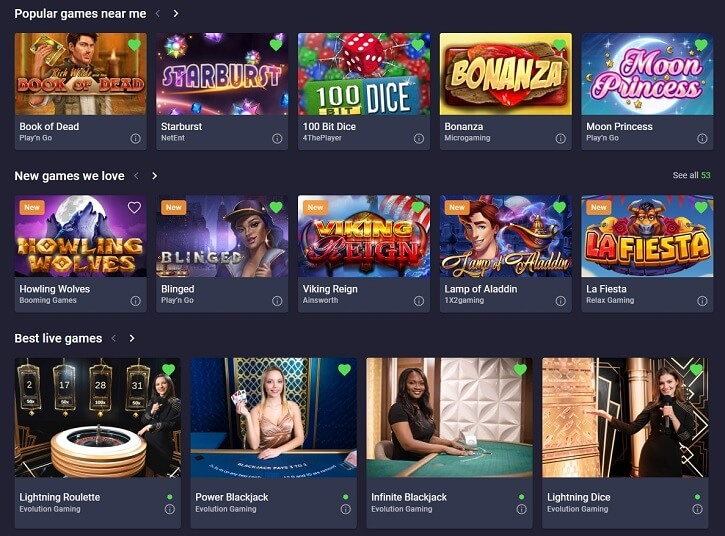 cloudbet casino games slots