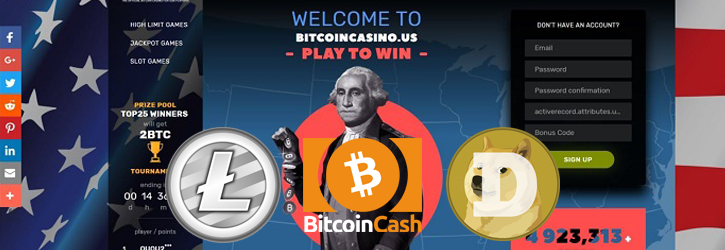 bitcoincasino.us litecoin dogecoin bitcoincash
