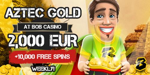 bob casino aztec gold race