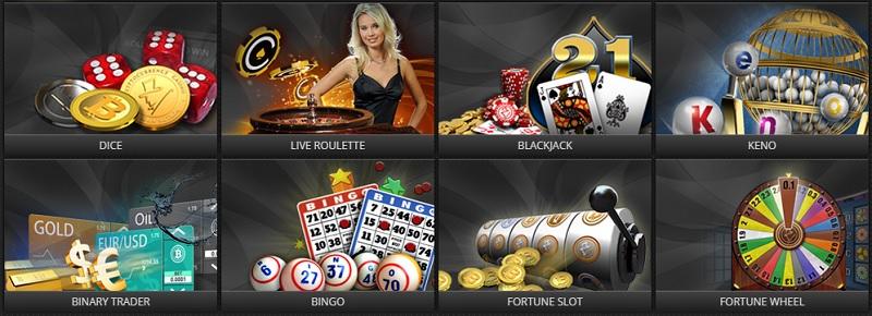 казино игры в FortuneJack