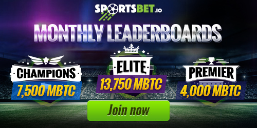 sportsbet.io monthly leaderboards