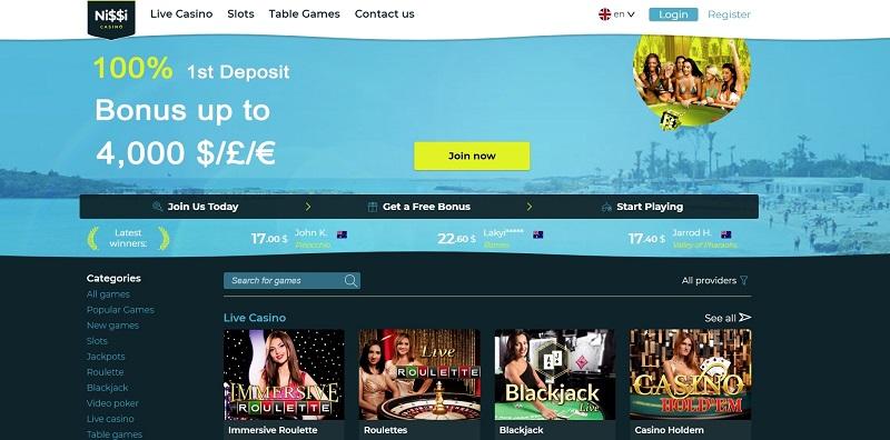 обзор nissi casino