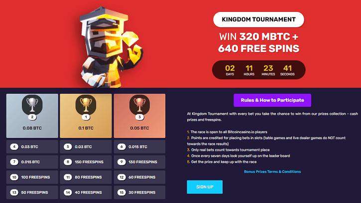 bitcoincasino.io tournament