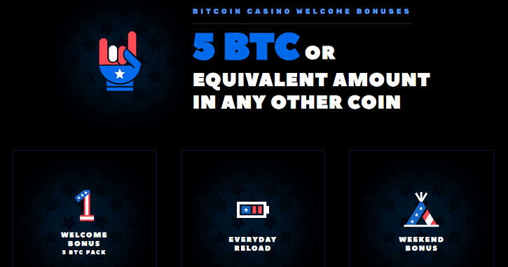 bitcoincasino.us welcome bonuses