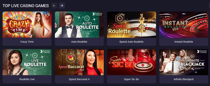 bitstarz casino live dealer games