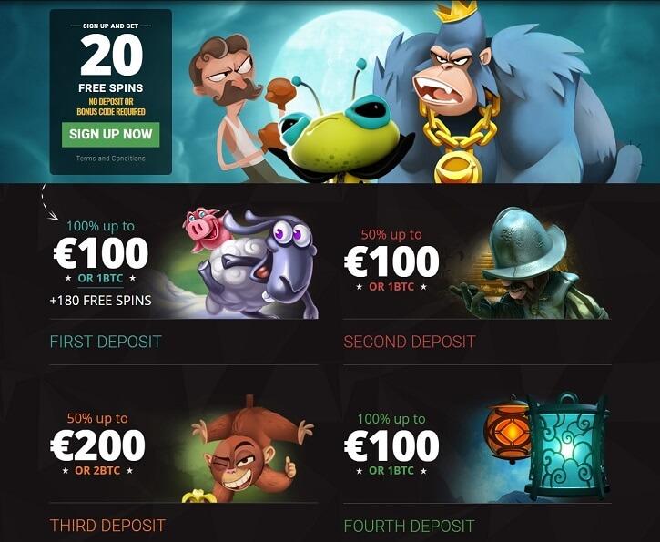bitstarz casino welcome bonuses