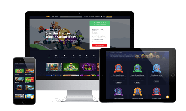 mbit casino website screens