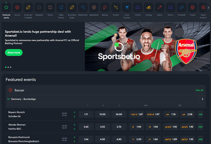 sportsbet io betting
