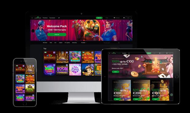 katsubet casino website screens