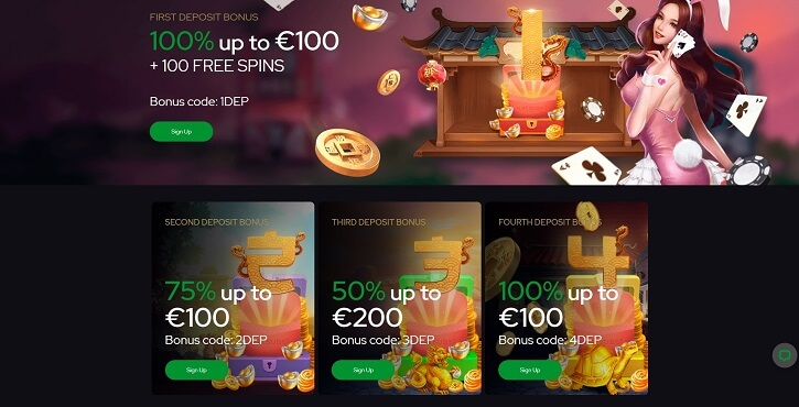 katsubet casino welcome bonuses