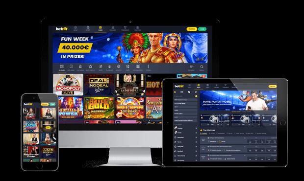 bettilt casino website screens