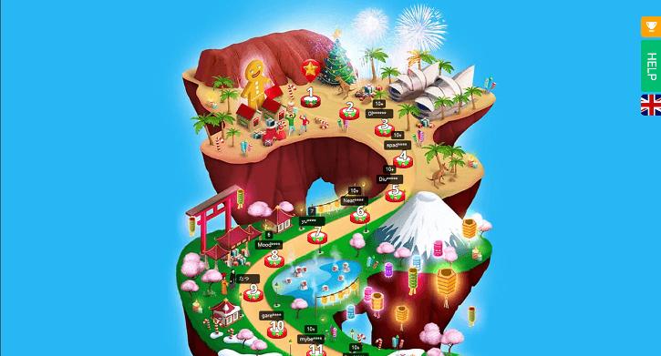 bitstarz casino christmas adventure map