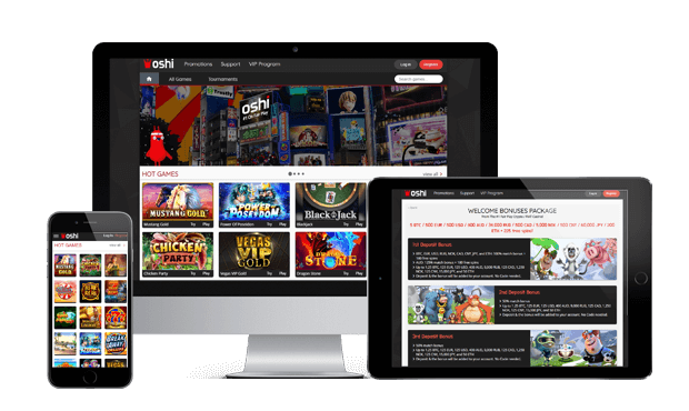 oshi casino website screens