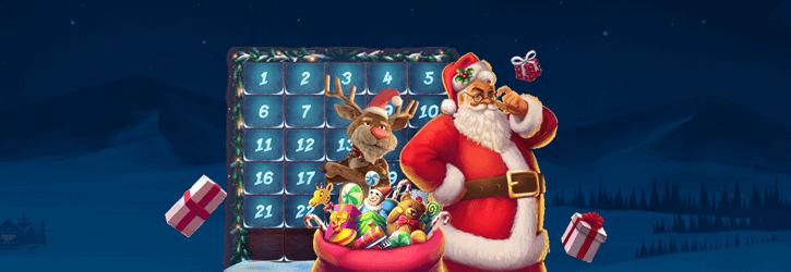 winz casino christmas calendar promo