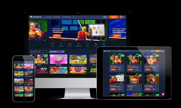 slotman casino website screens