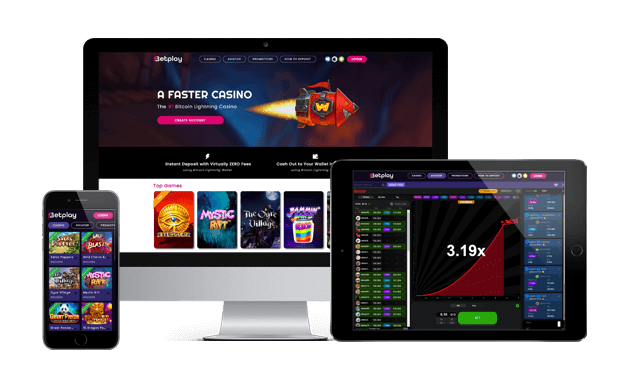 betplay casino website screens