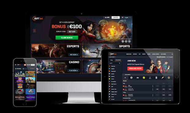 buffbet website screens