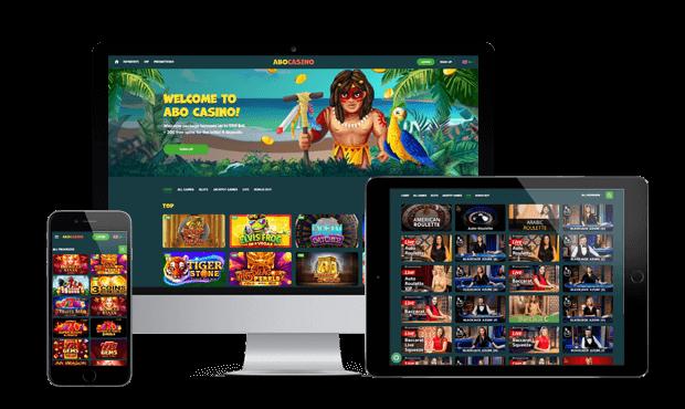 abocasino website screens
