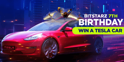 bitstarz casino birthday tesla car