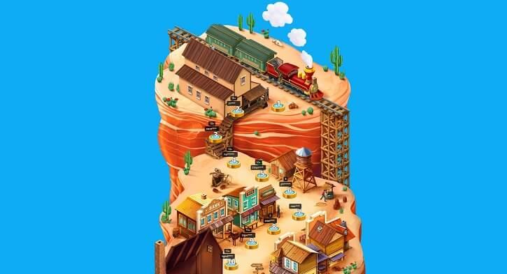 bitstarz casino wild west adventure map