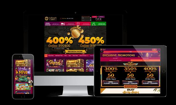 hallmark casino websites screens